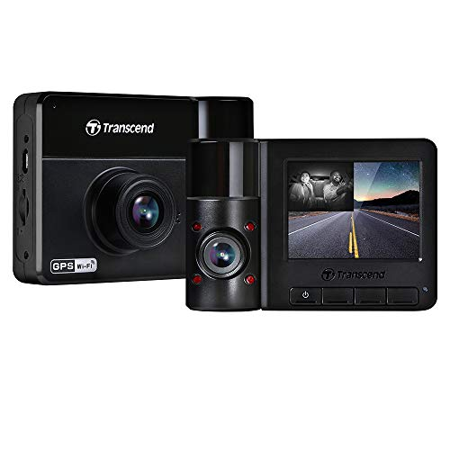 Transcend DrivePro 550 Dual 1080 Camera Incl. 64GB microSDXC MLC Marca Transcend
