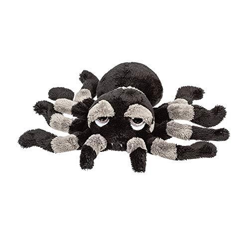 Suki Gifts 14446 Li'l Peepers Tarantel Spinne Sid Kuscheltier, grau