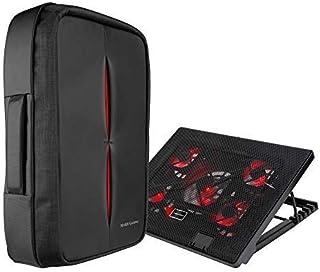 Mars Gaming BLM14 - Pack de Mochila y Base de refrigeración para portátiles