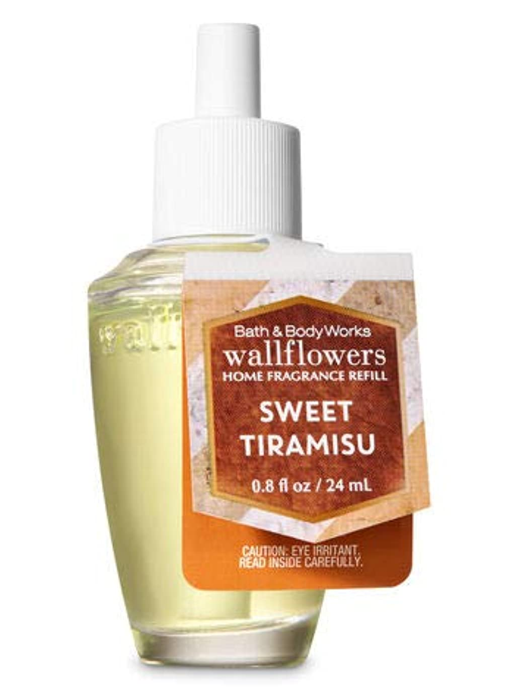 リクルート気を散らす警戒【Bath&Body Works/バス&ボディワークス】 ルームフレグランス 詰替えリフィル スイートティラミス Wallflowers Home Fragrance Refill Sweet Tiramisu [並行輸入品]