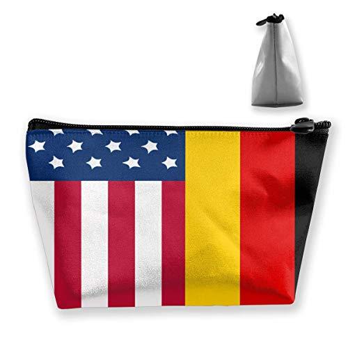 Duitse Amerikaanse vlag potlood tas rits tas munttas make-up zak zak opslag zakken grote capaciteit pen houders voor kinderen school kinderen jongens meisjes vrouwen gift