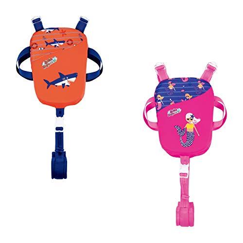 Bestway Swim Safe Schwimmhilfe, mit Textilbezug, für Kinder 1-3 Jahre (S/M), sortiert