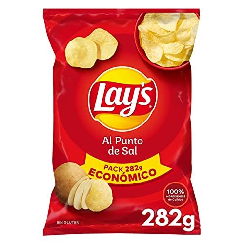 Lay'S Patatas Fritas Al Punto de Sal, 282g