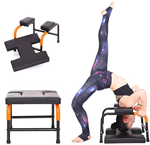 Buy Bargain Flowing Water Yoga Inversion Bench Headstand Prop Upside Down Chair for Feet Up and Bala...
