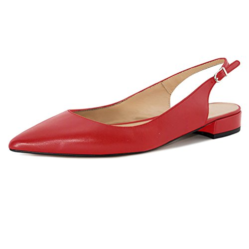 Top 10 best selling list for red flat slingback shoes