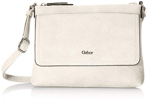 Gabor Damen Dina Cross Bag, Off White, M