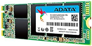 ADATA Ultimate M.2 SU800 1TB M.2 Solid State Drive Festplatte, schwarz