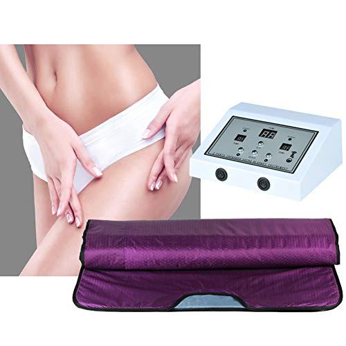 ZMIN Far Infrared Sauna Blanket Body Shaper Gewichtsverlust Sauna Abnehmen Decke für Gewichtsverlust und Körperformung intensely 180x80cm