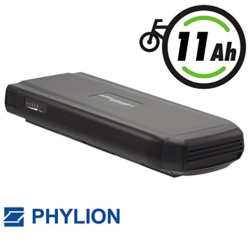 Bester der welt Phylion Batterietyp JoycubeWall ES für E-Bike Pedelec 36V 11Ah für Batavus, Vogue, Keiler,…