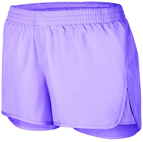 Augusta Sportswear Ladies Wayfarer Shorts, Light Lavender, M