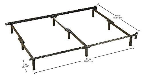 Sleep Revolution Minimalist Metal Bed Frame