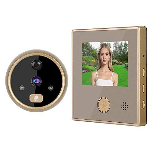 Visor de puerta Mirilla Cámara Pantalla LCD de 3 pulgadas Timbre de video electrónico Sistema de seguridad para el hogar de gran angular de 160 grados con función de visión nocturna