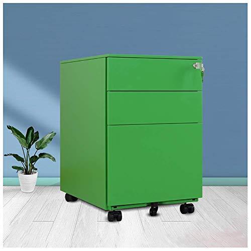 Opbergkast voor archieven van metaal voor kantoor en kantoor, 3-laags kastdeur met beweegbaar slot van metaal, voor kantoor en kantoor enz.