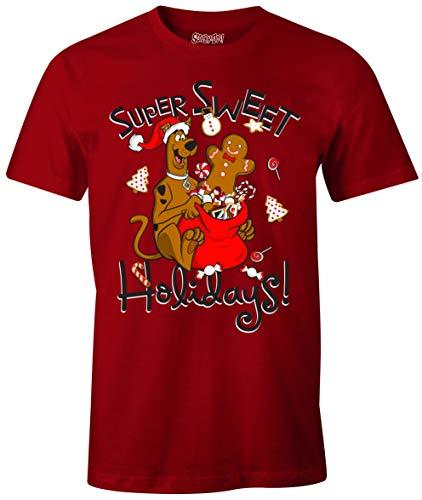 cotton division MESCOOBTS018 Camiseta, Rojo, XL para Hombre