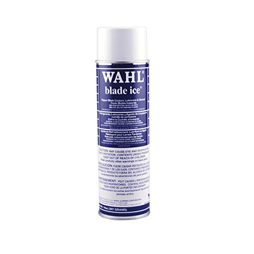 Wahl Professional Animal Blade Ice Coolant and Lubricant for Pet Clipper Blades (#89400), Blue