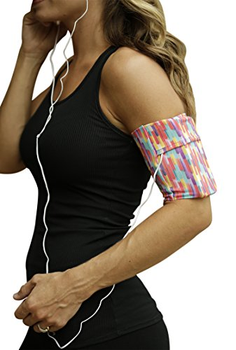 MÜV365 iPhone Running Holder Armband for Samsung Galaxy S10, S9, S8, S7, S6, A8, Note 10/9, iPhone 11, X/10, 8, 7, 6, 6S, Plus Sizes, Pixel 2 and All Cellphones with Case Up to 7' for Women and Men