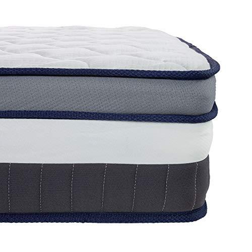 Arensberger ® Alessia 7-Zonen Taschenfederkern Matratze, 140 x 200cm, Höhe 25cm, mit integriertem Topper