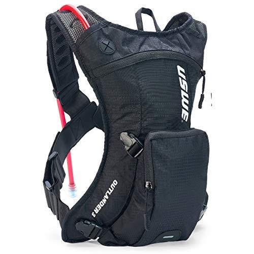 USWE Unisex– Erwachsene Outlander 3 Packtasche, schwarz, 1size