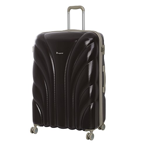 it luggage Cascade 8 Wheel Hard Shell Single Expander Suitcase Large with TSA lock Valigia, 79 cm, 155 liters, Marrone (Coffee Bean)