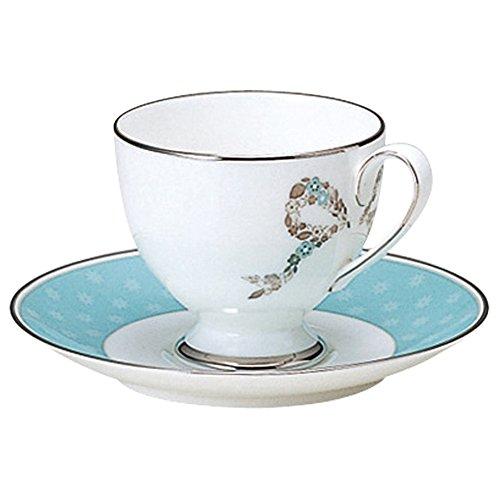 Ferishita! Coffee porcelain bowl plate (1 customer) 50626-20857 (japan import)