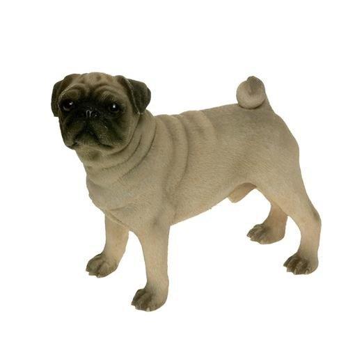 Thorne Antiques & Collectables Leonardo Sculpture de chien à collectionner Carlin debout