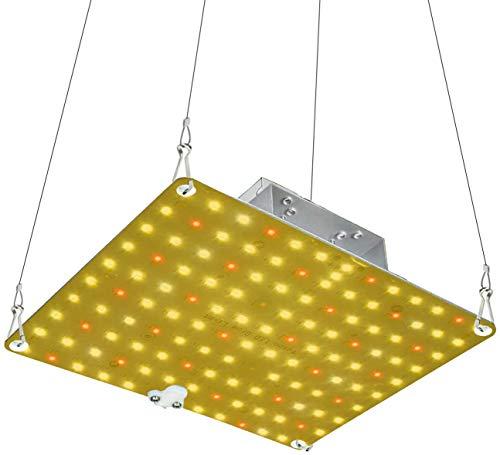 WYZM LED Grow Lampe,600W LED Pflanzenlampe Vollespektrum, Led Grow Light Full Spectrum Pflanzewachsen Licht Hängeleuchte für Zimmerpflanzen