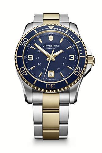 Victorinox Hombre Maverick - Reloj de Acero Inoxidable de fabricación Suiza 241789