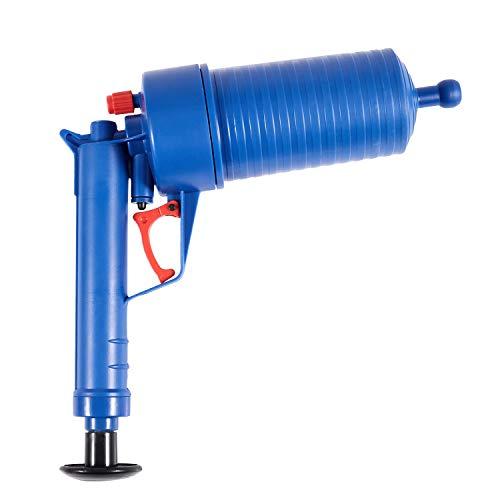 TOOGOO Air Pistolet Drain Blaster Haute Pression Puissant Manuel evier Plongeur Opener nettoyant Pompe pour Toilettes de Bain Salle de Bain Cuisine Douche Baignoire Tuyau Bouche