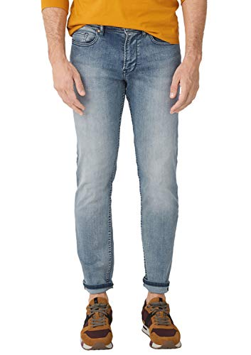 s.Oliver Herren 13.909.71.5517 Straight Jeans, Blau (Blue Denim Stretch 54z4), 31W / 36L