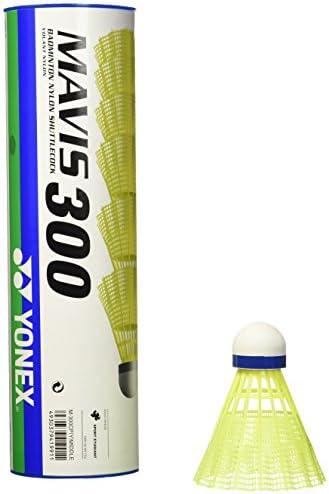 YONEX Mavis 300 Yellow Nylon Shuttlecocks 1 2doz product image