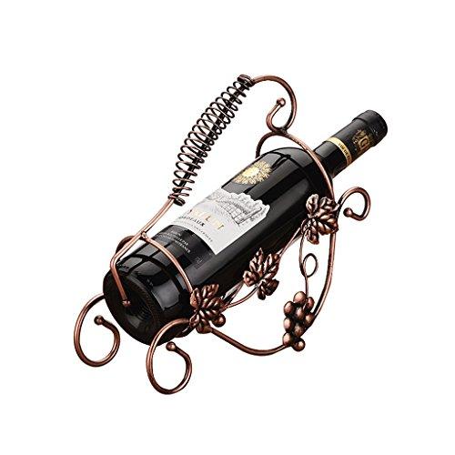 Soporte Organizador de botelleros Ornamentos De La Moda del Estante De UVA Retro del Estante del Vino Europeo Estantes de exhibición del Soporte del almacenamie
