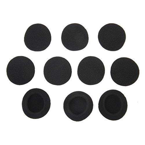 Ohrpolster - SODIAL(R) 5 Paar schwarze Ersatz Ohrpolster Pads fuer PX100 Koss Porta Pro Kopfhoerer