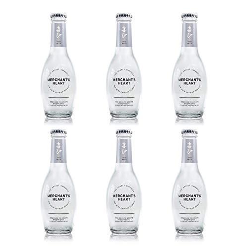 Merchant's Heart Classic Tonic Water Glasflasche, 200 ml, 6 Stück