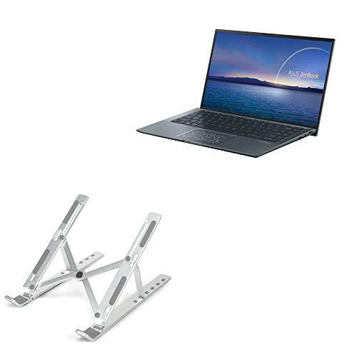 Suporte e suporte BoxWave para ASUS ZenBook 14 Ultralight UX435 [suporte compacto QuickSwitch] Portátil, suporte de visualização em vários ângulos para ASUS ZenBook 14 Ultralight UX435 - Prata metálica