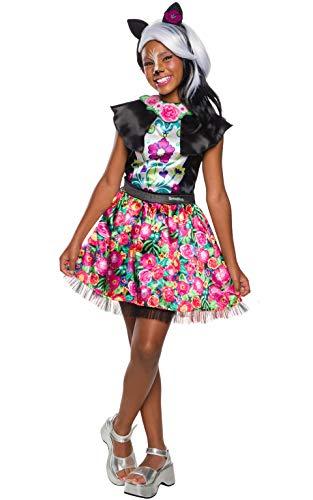 Enchantimals - Disfraz de Sage Skunk para niña, 5-7años (Rubies 641216-M)