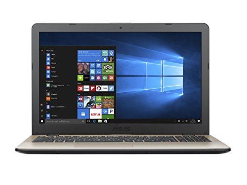 Asus VivoBook Notebook, 15.6'HD, Intel Core i7-7500U, RAM 4 GB, HDD da 500 GB, NVidia GT930MX [Layout Italiano]