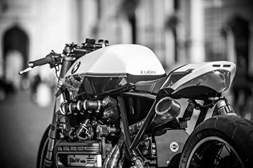 WZZPSD Puzzle1000Pezzi Moto in Bianco e Nero Salotto Puzzle in Legno Fai da Te Stile Regalo per La Casa