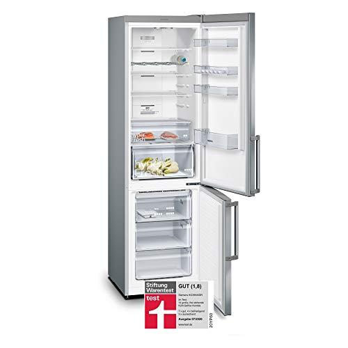 Siemens KG39NXIDR iQ300 Freistehende Kühl-Gefrier-Kombination mit Gefrierbereich / A+++ / 182 kWh/Jahr / 366 l / hyperFresh Frischesystem / noFrost / freshSense / bottleRack