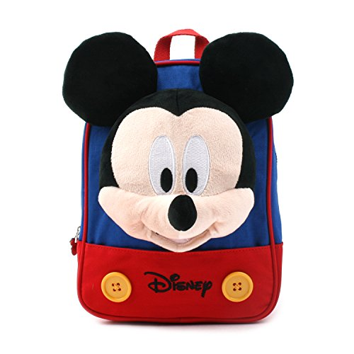 ディズミッキーマウス Disney Mickey Mouse Face Doll フィンガーバックパック Finger Backpack 迷子防止ひも Safety Harness Strap [並行輸入品]