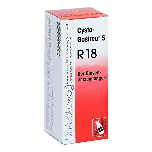 Cysto-Gastreu S R 18 Mischung bei Blasenentzündungen, 50 ml Lösung