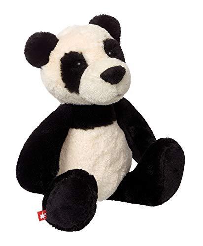 sigikid, Mädchen und Jungen, Stofftier Panda klein, Shaggi Shanghai, Sweety, Schwarz/Weiß, 42266
