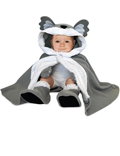 Rubie's Rubies–154680–Kostüm für Babys–Cape, Hut, Handschuhe und Hausschuhe–Koala–Einheitsgröße
