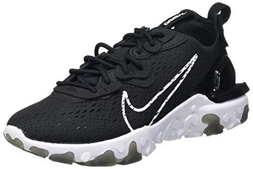 Nike React Vision, Chaussure de Course Homme, Noir Blanc, 44 EU