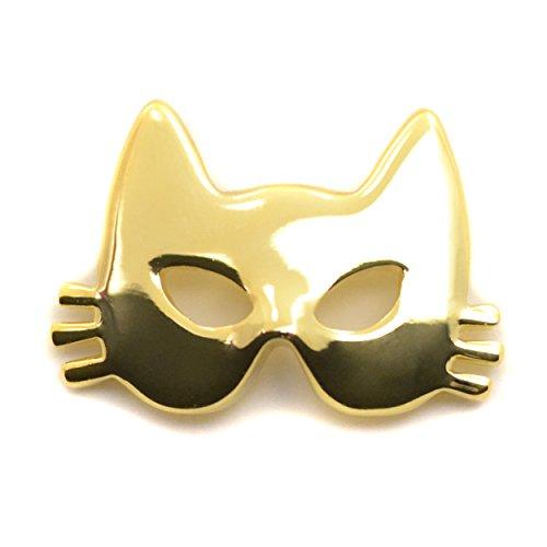 ニッケルフリー マスク アクセサリー マスクピアス マスクチャーム ハロウィン ネコマスク レディース 金属アレルギー マスクのおしゃれ ゴールド