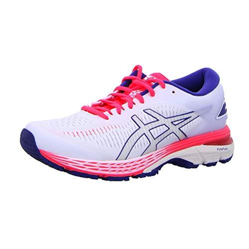 ASICS Women's Gel-Kayano 25 Running Shoes, 6M, White/White