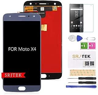 for Motorola Moto X4 XT1900-1 XT1900-2 XT1900-4 XT1900-5 XT1900-7 APAC LATAM JP AM Screen Replacement LCD Display Touch Screen Digitizer Glass Assembly Parts 5.2