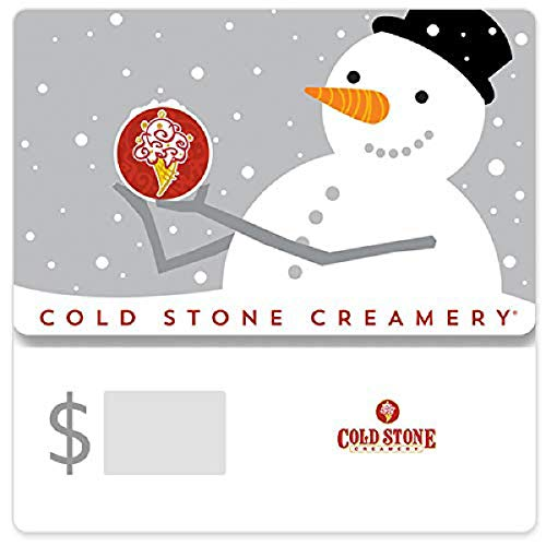 Cold Stone Snowman Gift Cards - E-mail Delivery - http://coolthings.us