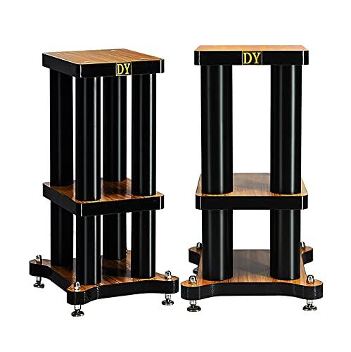 ZLYH 2 Soportes para Altavoces De Suelo Resistentes, para Sonido Envolvente Y Altavoces De Estantería para Libros, Peso De hasta 22 Libras - 1 Par (Size : 61cm)