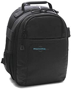 Maxsimafoto Small Backpack Rucksack Camera Bag for Nikon D3100 D3200 D...