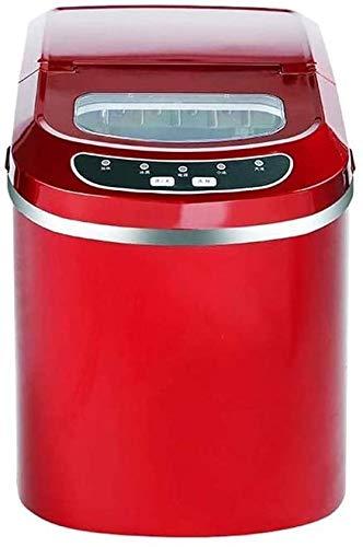 QIYUE Tragbare Eismaschine, Gewerbe Kleine Eisautomat 15KG Runde Eismaschine Mini Eismaschine Kann Sich 33 Pfund EIS alle 24 Stunden, kann bereit Sein, in 6-13 Minuten